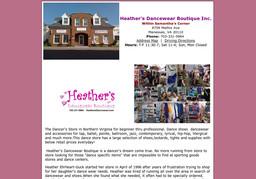 Heather's Dancewear Boutique Inc