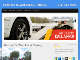 Henryetta Wrecker and Towing