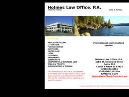 Holmes Law Office Pa