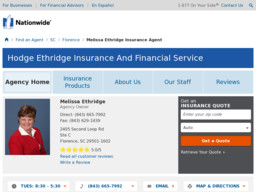 Nationwide Insurance - Hodge Ethridge Insurance And Financial Service
