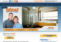 Call Doug Electric Inc - Dba Ideal Plumbing Heating Air & Electrical