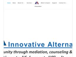 Innovative Alternatives In Mediation & Counseling