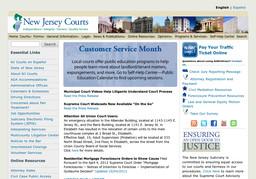 N J State - Judiciary Department - Appellate Div - Judges - Civil Appeals Settlement Pro