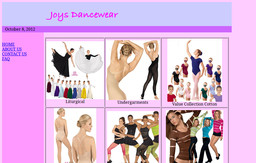 Joy's Dancewear & Aerobic Apparel 5655