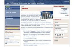 Kushner - Theodore Alexander Attorney