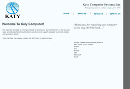 Katy Computer Systems