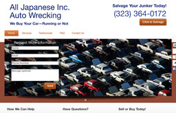 All Japanese Inc. Auto Wrecking