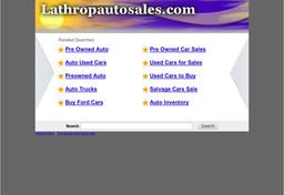 Lathrop Auto Sale