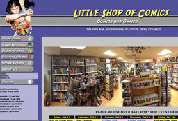 A Little Shop of Comics
