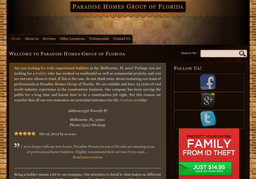 Paradise Homes Group of Florida