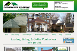 Paramount Roofing Amp Siding Llc On Pflaum Rd In Madison Wi