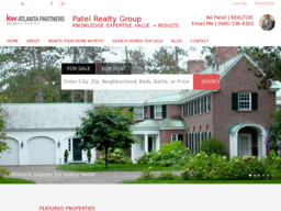 Patel Realty Group | Keller Williams ATL Partners- Nil Patel