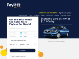 Payless Car Rental On 40th St In Fargo Nd 701 478 9889 Rental