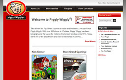 Piggly Wiggly Grocery Stores