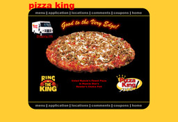 Pizza King New Castle Top Hat Pizza King On Broad St In