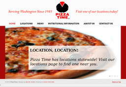 Round Table Pizza Spanaway Wa.Pizza Time Spanaway On Pacific Ave In Spanaway Wa 253 537 7700