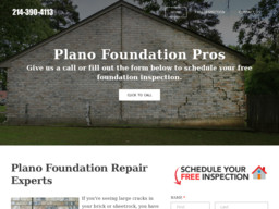Plano Foundation Pros