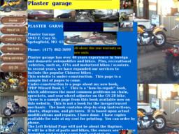 Plaster's Garage