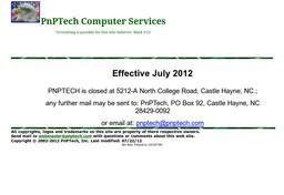 PNP Tech Computers