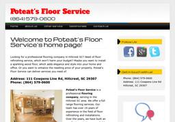 Poteat's Floor Service
