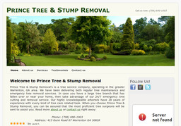 Prince Tree & Stump Removal
