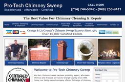 Pro Tech Chimney Sweep On Orange Olive Rd In Orange Ca
