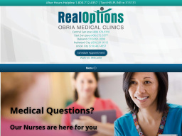RealOptions Pregnancy Medical Clinics