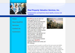 Real Property Valuation Services
