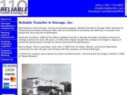 Reliable Transfer & Storage