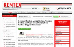 Rentex Computer & Audio Visual Rentals