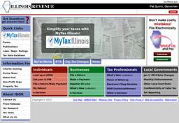 State of Illinois - Department of Revenue