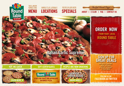 Round Table Pizza Olympic Village On Olympic Dr In Gig Harbor Wa
