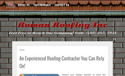Roman Roofing Inc On Recker Rd In Mesa Az 480 245 5927