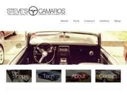 Steve's Camaros