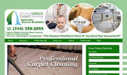 St Louis Green Carpet Cleaning On Captiva Dr In St Louis