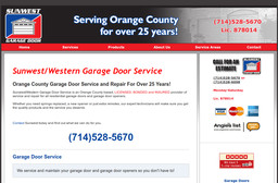 Sunwest Garage Door