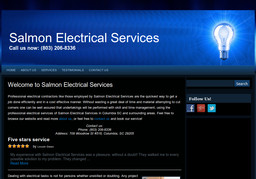 Salmon Electrical Services On Woodrow St In Columbia Sc