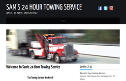 Sam's 24 Hour Towing Service