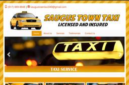 Saugus Town Taxi Cab