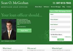 Sean O. McGeehan, Mortgage Loan Officer