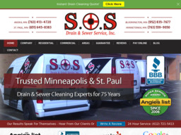SOS Drain & Sewer Cleaning Services