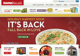Souper Salad Restaurant On Baymeadows Rd In Jacksonville FL