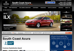 South Coast Acura >> South Coast Acura In Costa Mesa Ca 714 979 2500 Car Dealers Cmac Ws