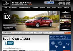 South Coast Acura >> South Coast Acura In Costa Mesa Ca 714 979 2500 Car Dealers Cmac Ws