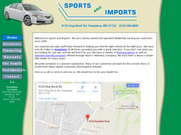 Sports and Imports