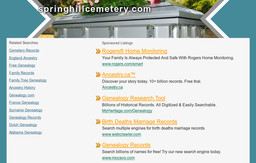 Spring Hill Funeral Home and Cemetary
