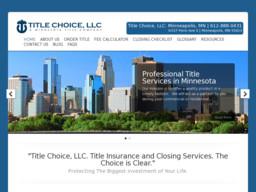 Title Choice, LLC