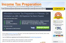 CEL Financial Services Fillmore Income Tax Preparation