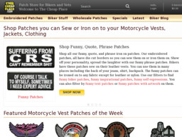 TheCheapPlace.com Biker Patches