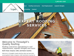 Threadgill's Quality Roofing